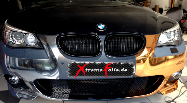 Gold chrom 3d wrapping folie micro luftkan le motorsport for Auto interieur folieren